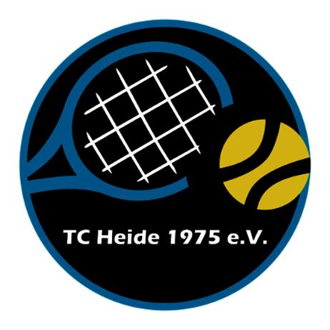 Logo: TC Heide 1975 e.V. - zur Startseite